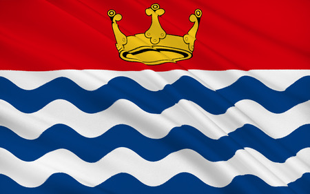 the royal county: Flag of Greater London, or London, is a region of England consisting of 33 districts: the 32 London boroughs and the City of London.