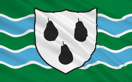 worcestershire: Flag of Worcestershire is a county in the West Midlands of England