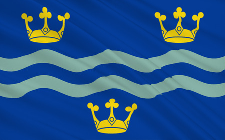 cambridgeshire: Flag of Cambridgeshire is an East Anglian county in England