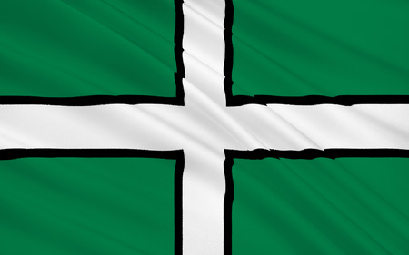 south west england: Flag of Devon is a county of England, reaching from the Bristol Channel in the north to the English Channel in the south. It is part of South West England