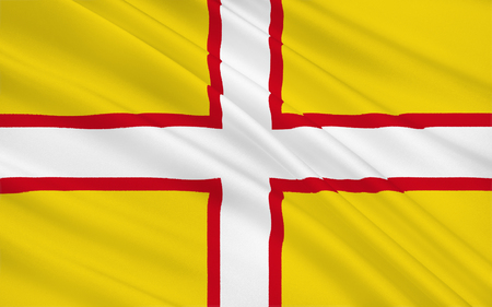 south west england: Flag of Dorset is a county in South West England on the English Channel coast. The ceremonial county comprises the non-metropolitan county