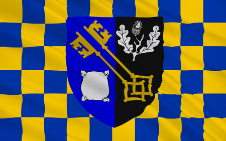 bordering: Flag of Surrey is a county in the south east of England, one of the home counties bordering Greater London