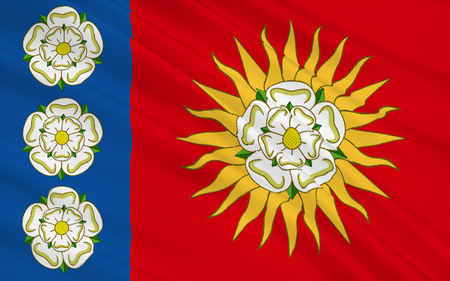 yorkshire and humber: Flag of West Yorkshire is a metropolitan county in England. It is located in the region of Yorkshire and the Humber