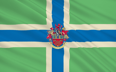 south west england: Flag of Gloucestershire is a county in South West England. The county comprises part of the Cotswold Hills, part of the flat fertile valley of the River Severn, and the entire Forest of Dean.