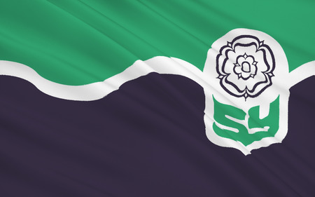 yorkshire and humber: Flag of South Yorkshire is a metropolitan county in England. It is located in the region of Yorkshire and the Humber