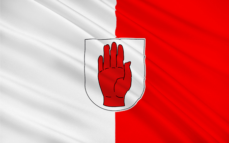 pledge of allegiance: Flag of County Tyrone is one of the six counties of Northern Ireland