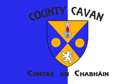 pledge of allegiance: Flag of County Cavan is a county in Ireland. It is in the province of Ulster and is part of the Border Region