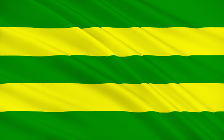pledge of allegiance: Flag of County Kerry is a county in Ireland. It is located in the South-West Region and is also part of the province of Munster. Kerry County Council is the local authority for the county and Tralee serves as the county town.