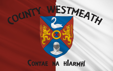 pledge of allegiance: Flag of County Westmeath is a county in Ireland. It is in the province of Leinster and is part of the Midlands Region. It originally formed part of the historic Kingdom of Meath (Midhe).