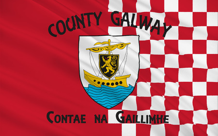 contae: Flag of County Galway is a county in the West of Ireland in the province of Connacht. It is named after the city of Galway. Galway County Council is the local authority for the county.
