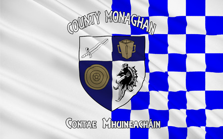 pledge of allegiance: Flag of County Monaghan is a county in Ireland. It is part of the Border Region and is in the province of Ulster.
