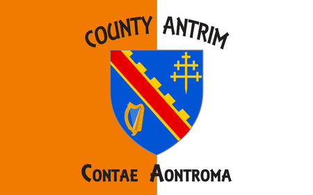 ard: Flag of County Armagh (named after its county town, Armagh) is one of six counties that form Northern Ireland and one of the 32 traditional counties of Ireland, situated in the northeast of the island.