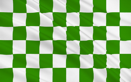 Flag of County Fermanagh is one of the six counties of Northern Ireland.