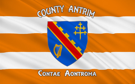 Flag of County Armagh (named after its county town, Armagh) is one of six counties that form Northern Ireland and one of the 32 traditional counties of Ireland, situated in the northeast of the island.