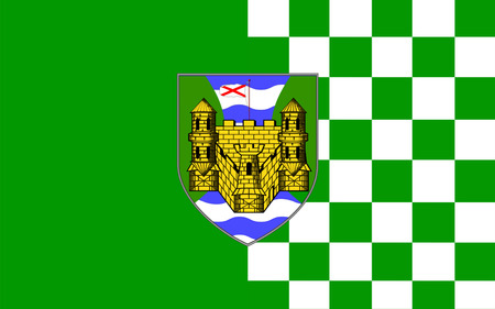pledge of allegiance: Flag of County Fermanagh is one of the six counties of Northern Ireland.