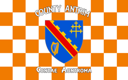 counties: Flag of County Armagh (named after its county town, Armagh) is one of six counties that form Northern Ireland and one of the 32 traditional counties of Ireland, situated in the northeast of the island.