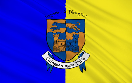 leinster: Flag of County Longford is a county in Ireland. It is part of the Midlands Region and is also located in the province of Leinster.