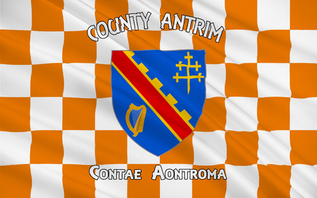 pledge of allegiance: Flag of County Armagh (named after its county town, Armagh) is one of six counties that form Northern Ireland and one of the 32 traditional counties of Ireland, situated in the northeast of the island.