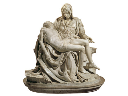 La Pieta from Michelangelo inside Saint Peter Basilica, Vatican