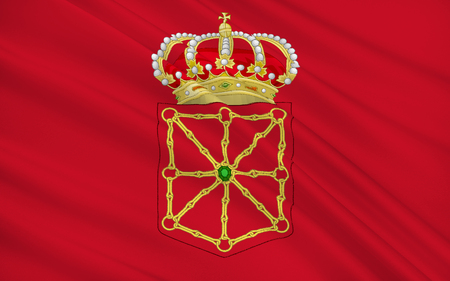iberian: Flag of Navarre officially the Chartered Community of Navarre is an autonomous community in northern Spain