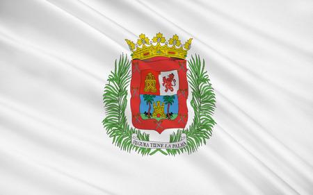 gran: Flag of Las Palmas de Gran Canaria is a city and capital of Gran Canaria, in the autonomous community Canary Islands, Spain