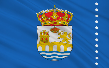 orense: Flag of Ourense is a city in northwestern Spain, the capital of the province of the same name in Galicia.