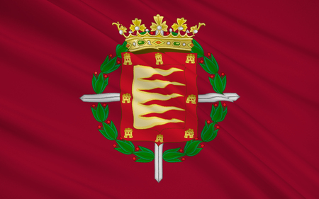 facto: Flag of Valladolid is a city in Spain and the de facto capital of the autonomous region of Castile and Leon.