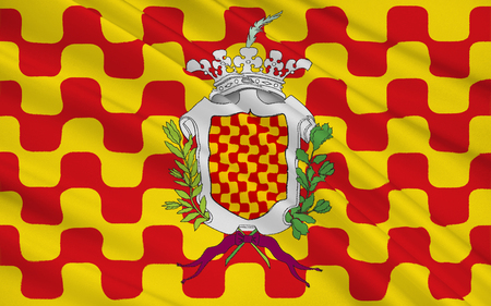 catalunia: Flag of Tarragona is a port city located in the north-east of Spain on the Mediterranean Sea. It is the capital of the Tarragona province, and part of the Tarragones county and Catalonia region.
