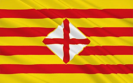 catalonia: Flag of Barcelona is a province of eastern Spain, in the center of the autonomous community of Catalonia.