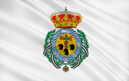 municipality: Flag of Santa Cruz de Tenerife is a city and capital of the Canary Islands, the capital of Province of Santa Cruz de Tenerife, and of the island of Tenerife, Spain