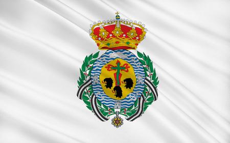 santa cruz de tenerife: Flag of Santa Cruz de Tenerife is a city and capital of the Canary Islands, the capital of Province of Santa Cruz de Tenerife, and of the island of Tenerife, Spain