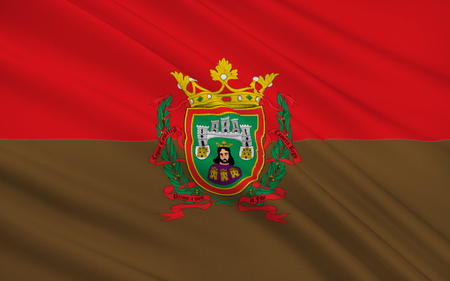 leon: Flag of Burgos is a city in northern Spain and the historic capital of Castile and Leon