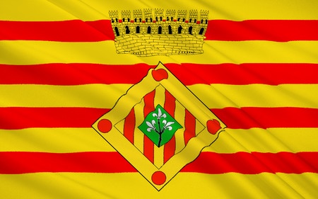 catalonia: Flag of The Province of Lleida is one of the four provinces of Catalonia. It lies in north-eastern Spain