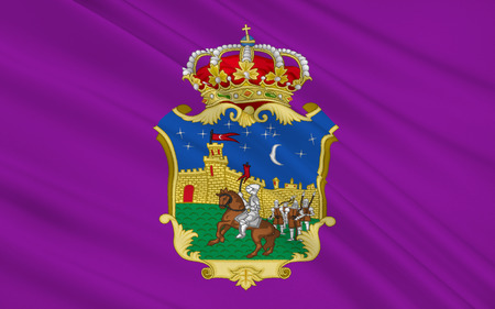 municipality: Flag of Guadalajara is a city and municipality in the autonomous community of Castile�La Mancha, Spain, and in the natural region of La Alcarria.