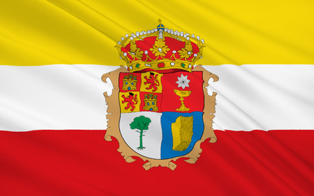 castilla: Flag of Cuenca is a province of central Spain, in the eastern part of the autonomous community of Castile–La Mancha.