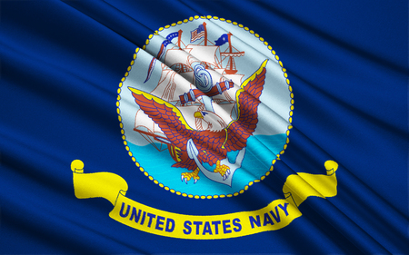 armed: Flag of the United States Armed Forces Stock Photo