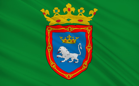 former: Flag of Pamplona is the historical capital city of Navarre, in Spain, and of the former Kingdom of Navarre.