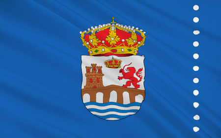 orense: Flag of Ourense is a province of northwestern Spain, in the southeastern part of the autonomous community of Galicia.