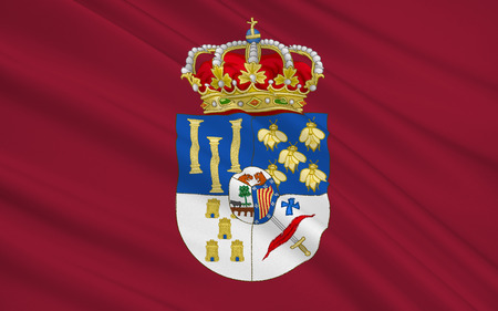 castilla: Flag of Salamanca is a province of western Spain, in the western part of the autonomous community of Castile and Leon