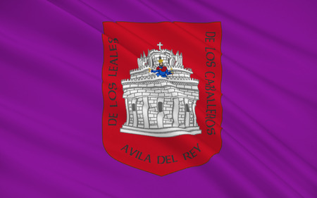 leon: Flag of Avila is a Spanish town located in the autonomous community of Castile and Leon, and is the capital of the Province of Avila.