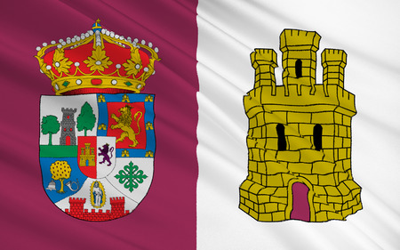 iberian: Flag of Caceres is a province of western Spain, in the northern part of the autonomous community of Extremadura.