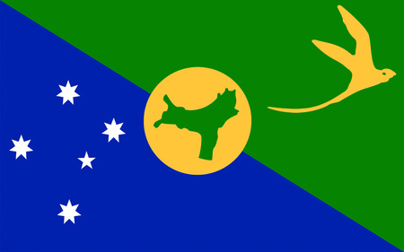 comprising: Flag of Christmas Island, officially the Territory of Christmas Island, is a territory of Australia in the Indian Ocean, comprising the island of the same name