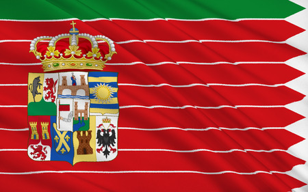 castilla: Flag of Zamora is a Spanish province of western Spain, in the western part of the autonomous community of Castile and Leon.