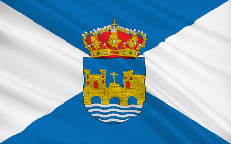 iberian: Flag of Pontevedra is a Spanish city in the north-west of the Iberian Peninsula. It is the capital of both the Comarca (County) and Province of Pontevedra, and of the Rias Baixas in Galicia.