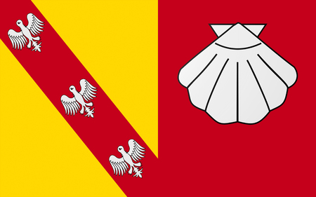 champagne region: Flag of Chateau-Salins is a commune in the Moselle department in Alsace-Champagne-Ardenne-Lorraine in north-eastern France.