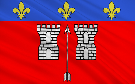 pays: Flag of La Fleche is a town and commune in the French department of Sarthe, in the Pays de la Loire region in the Loire Valley.
