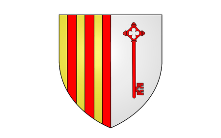 azur: Flag of Barcelonnette is a commune of France and a subprefecture in the department of Alpes-de-Haute-Provence, in the Provence-Alpes-Cote Azur region