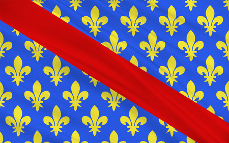 aurillac: Flag of Allier is a French department located in the Auvergne-Rhone-Alpes region of central France named after the river Allier.