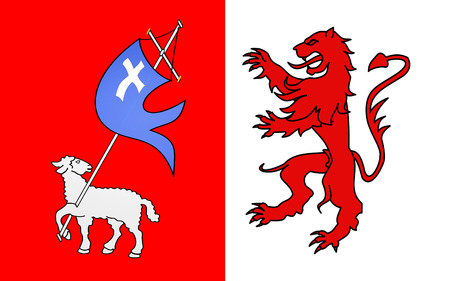 gascony: Flag of Auch is a commune in southwestern France. Located in the region of Midi-Pyrenees, it is the capital of the Gers department. Auch is the historical capital of Gascony
