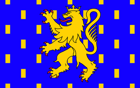 legion: Flag of Franche-Comte - French Legion of four departments - Doubs, Jura, Haute-Saone and Territoire de Belfort. The two largest cities and Besancon Belfort-Montbeliard.